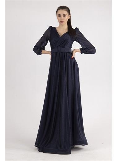 Belamore  Abiye & Mezuniyet Elbisesi Lacivert